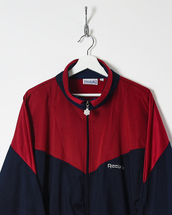 Reebok Tracksuit Top - Large - Domno Vintage 90s, 80s, 00s Retro and Vintage Clothing