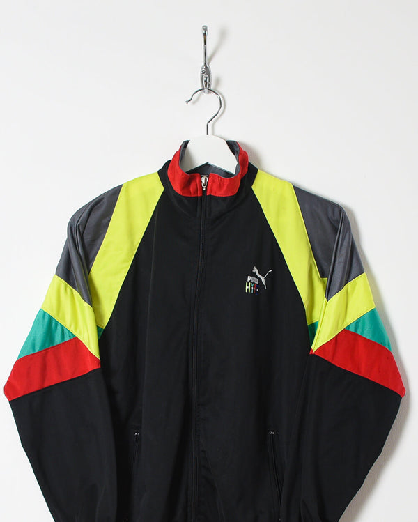 Puma Hype Tracksuit Top - X-Small - Domno Vintage