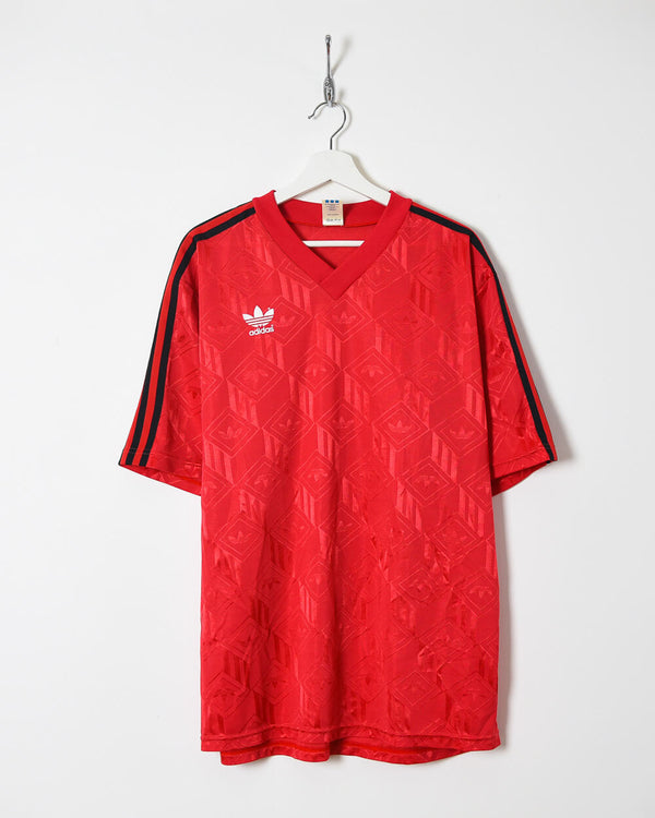 Adidas T-Shirt - XX-Large - Domno Vintage 90s, 80s, 00s Retro and Vintage Clothing