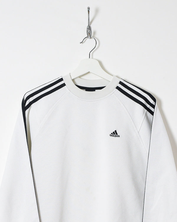 Adidas Long Sleeved T-Shirt - Small - Domno Vintage 90s, 80s, 00s Retro and Vintage Clothing