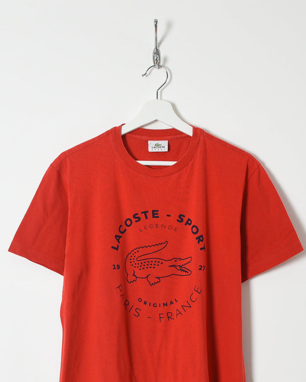 Lacoste T-Shirt - Medium - Domno Vintage