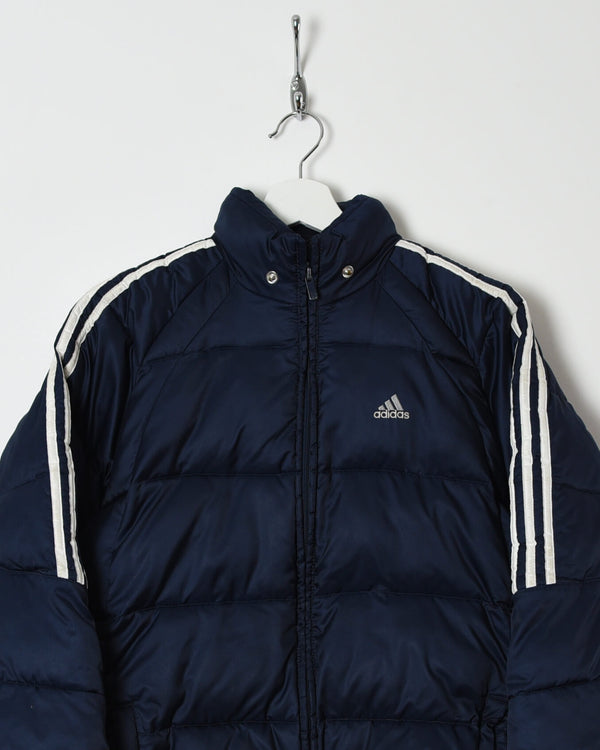 Adidas Puffer Jacket - Small - Domno Vintage 90s, 80s, 00s Retro and Vintage Clothing