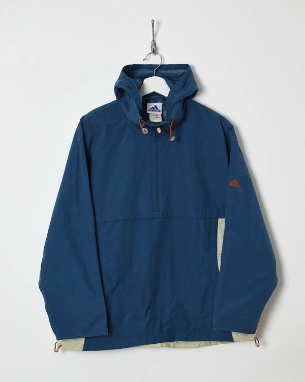 Adidas 1/4 Zip Hooded Jacket - Medium