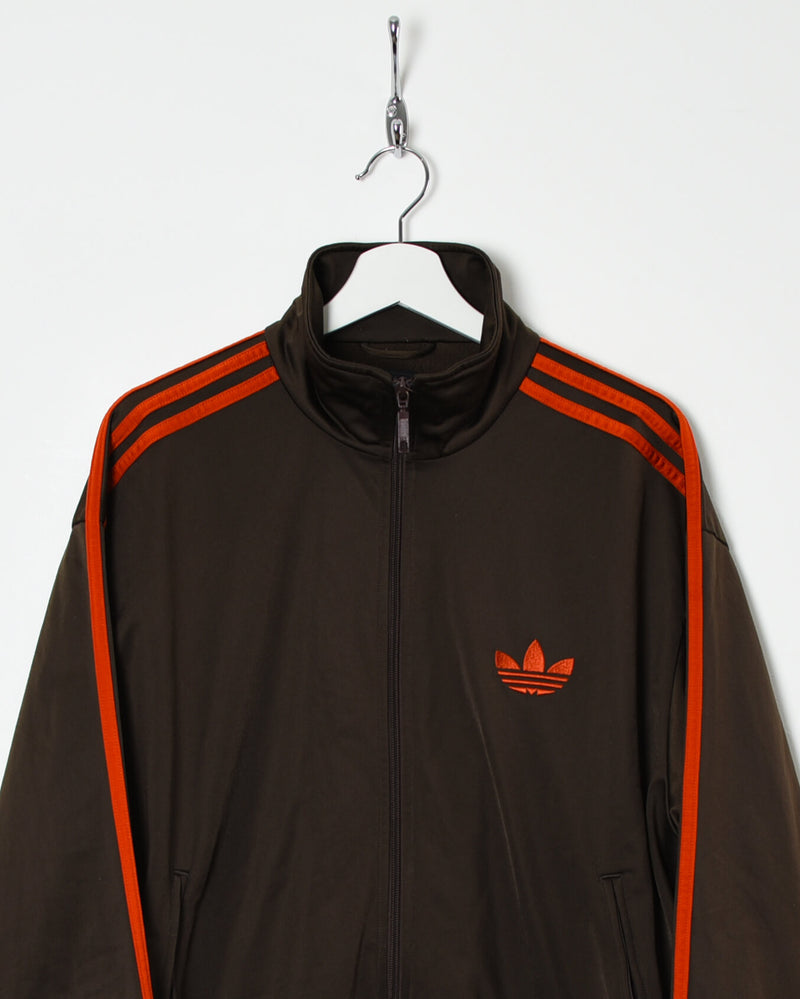 Adidas Tracksuit Top - Large - Domno Vintage 90s, 80s, 00s Retro and Vintage Clothing