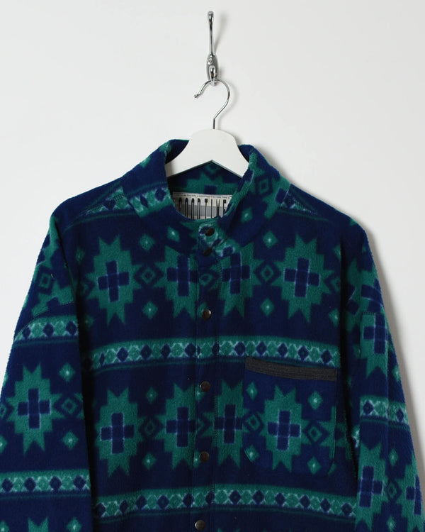 Vintage 90s Fleece - XX-Large - Domno Vintage 90s, 80s, 00s Retro and Vintage Clothing