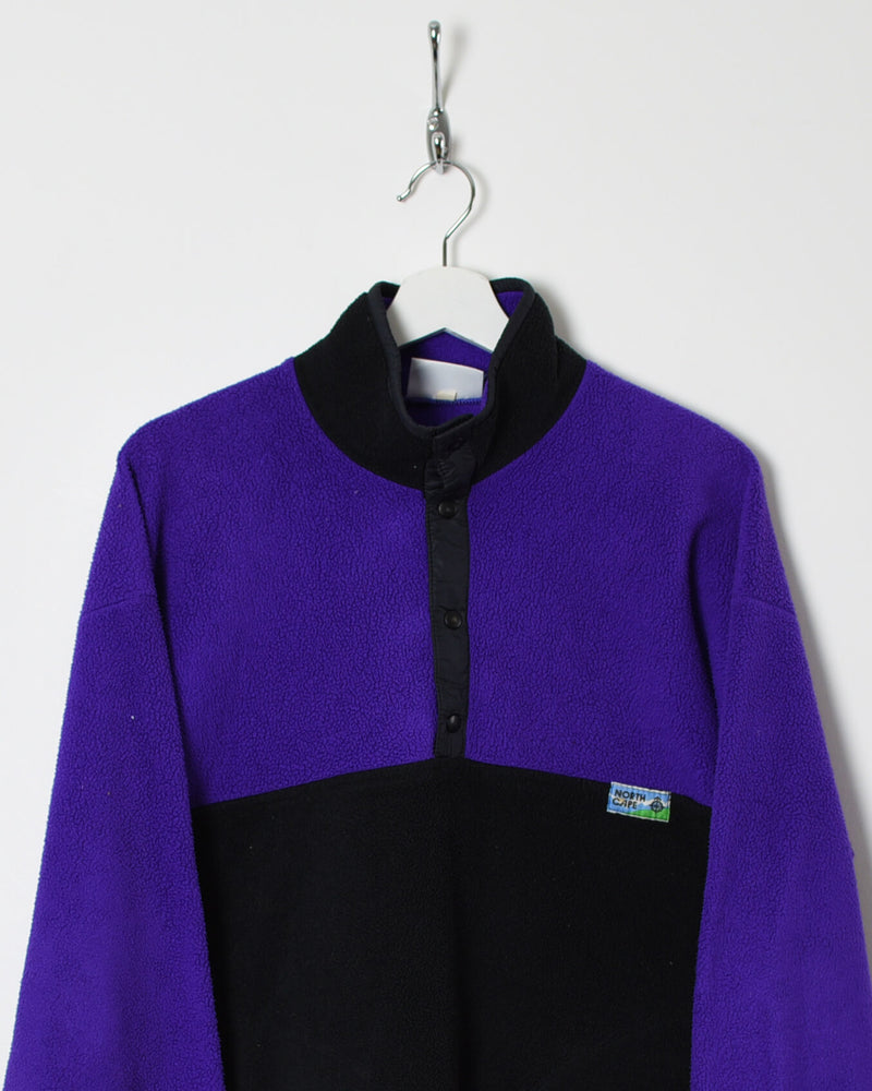 Vintage 90s 1/4 Zip Fleece - Medium - Domno Vintage 90s, 80s, 00s Retro and Vintage Clothing