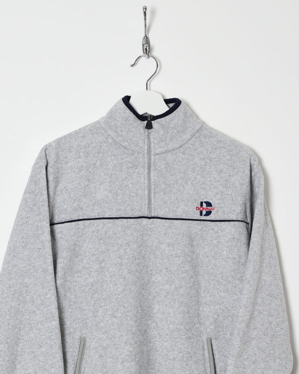 Donnay 1/4 Zip Fleece - X-Small - Domno Vintage 90s, 80s, 00s Retro and Vintage Clothing