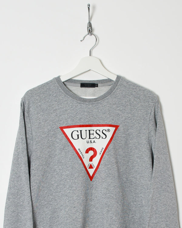Guess USA Sweatshirt - Medium - Domno Vintage 90s, 80s, 00s Retro and Vintage Clothing