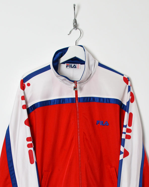 Fila Tracksuit Top - Medium - Domno Vintage 90s, 80s, 00s Retro and Vintage Clothing