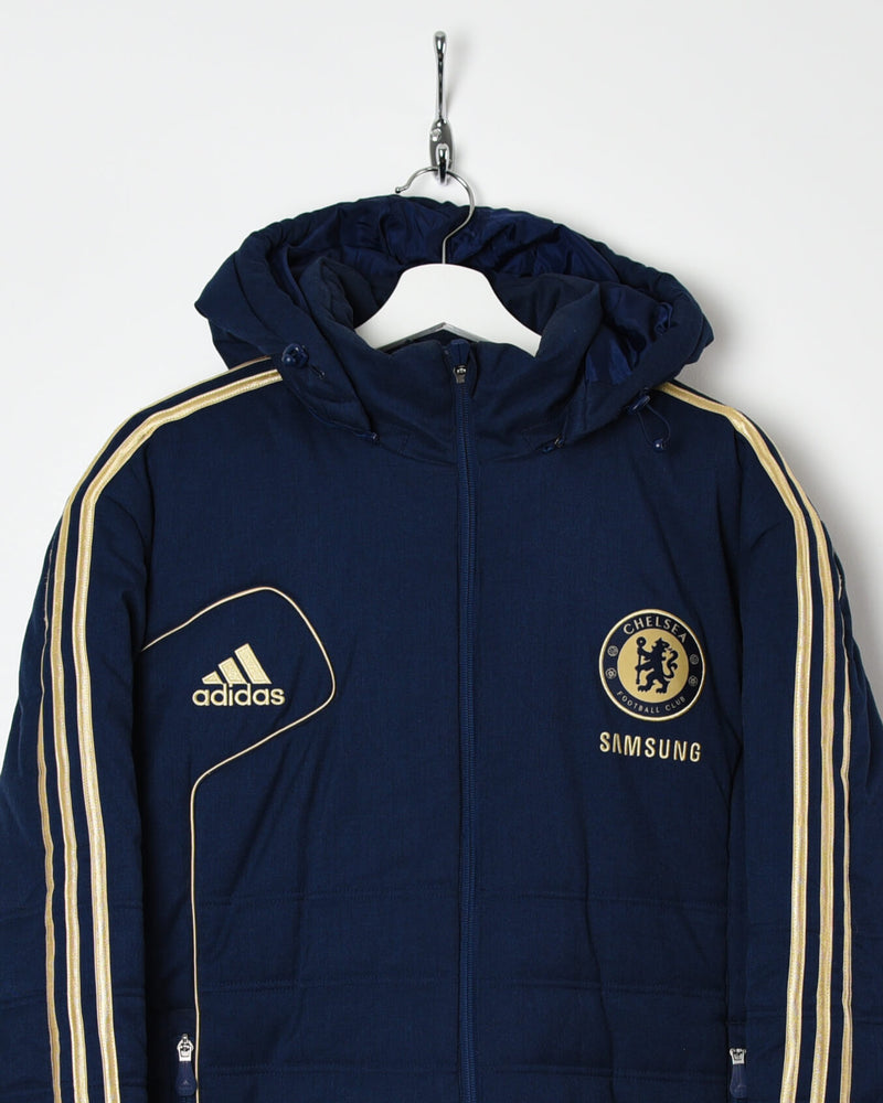 Adidas Chelsea Puffer Jacket - Medium - Domno Vintage 90s, 80s, 00s Retro and Vintage Clothing