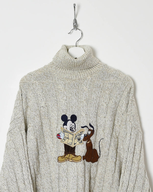 Vintage Disney Turtle Neck - X-Large - Domno Vintage 90s, 80s, 00s Retro and Vintage Clothing