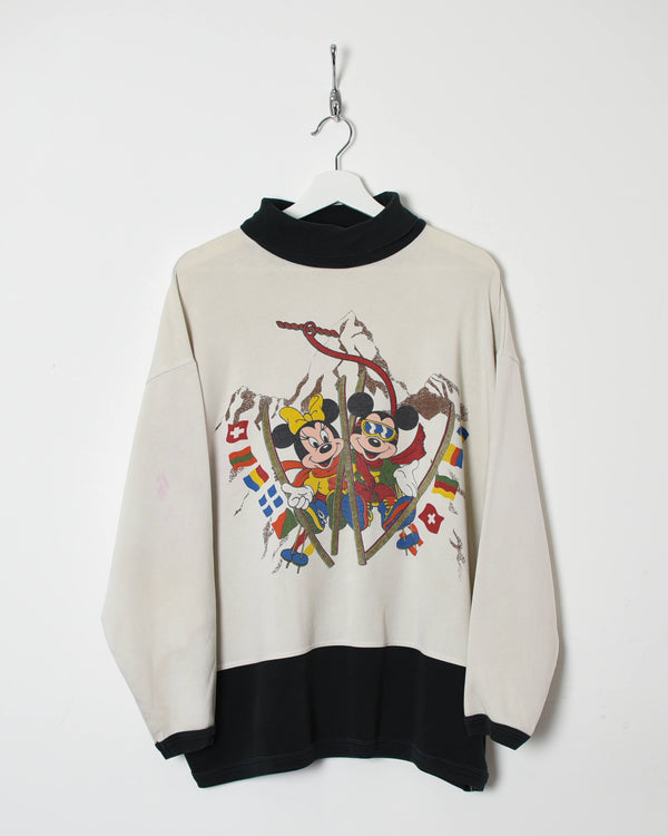 Disney Turtle Neck Sweatshirt - X-Large