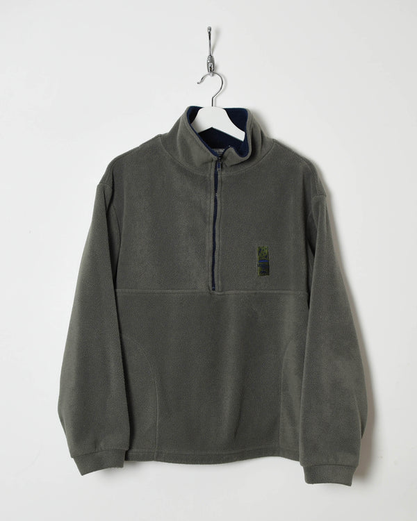 Vintage 90s 1/4 Zip Fleece - Small