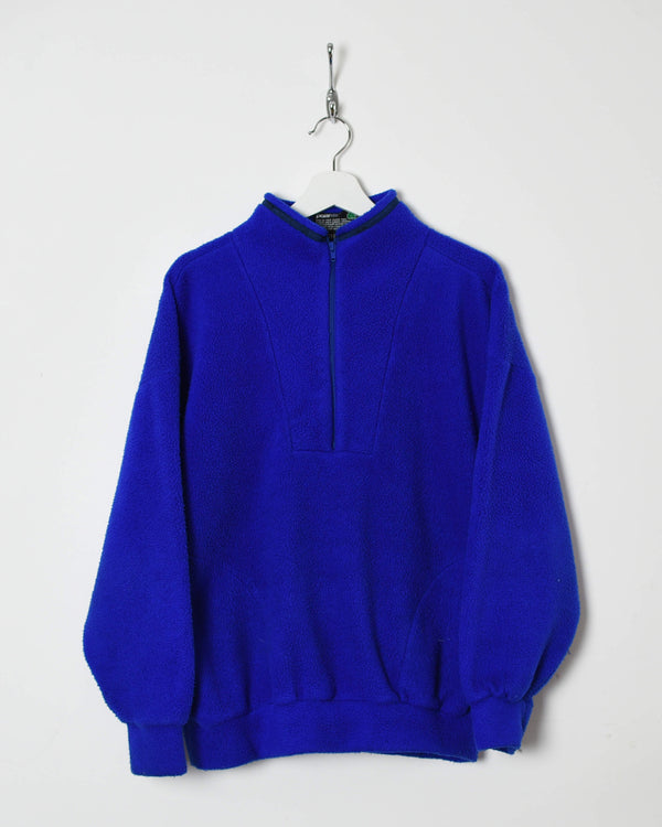 Vintage 90s 1/4 Zip Fleece - Medium