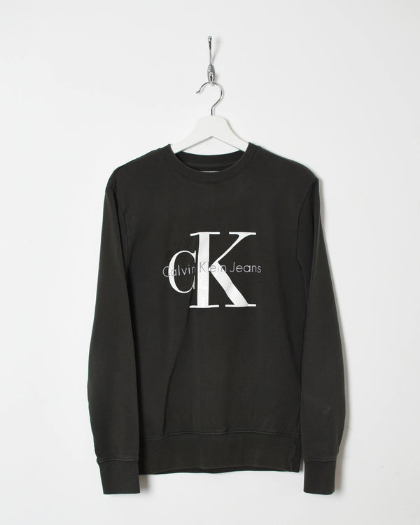 Calvin Klein Sweatshirt - X-Small - Domno Vintage 90s, 80s, 00s Retro and Vintage Clothing