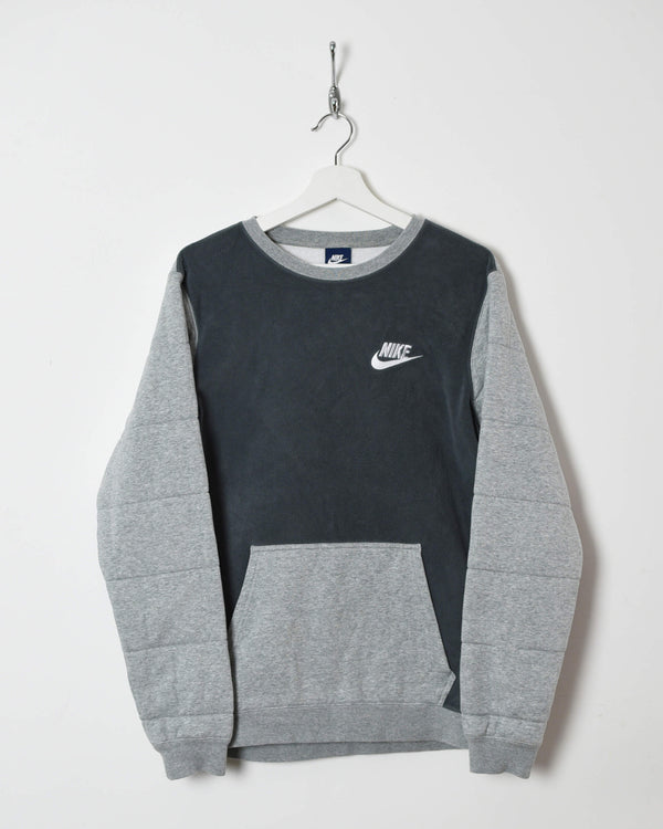 Nike Sweatshirt Fleeced - Small - Domno Vintage 90s, 80s, 00s Retro and Vintage Clothing