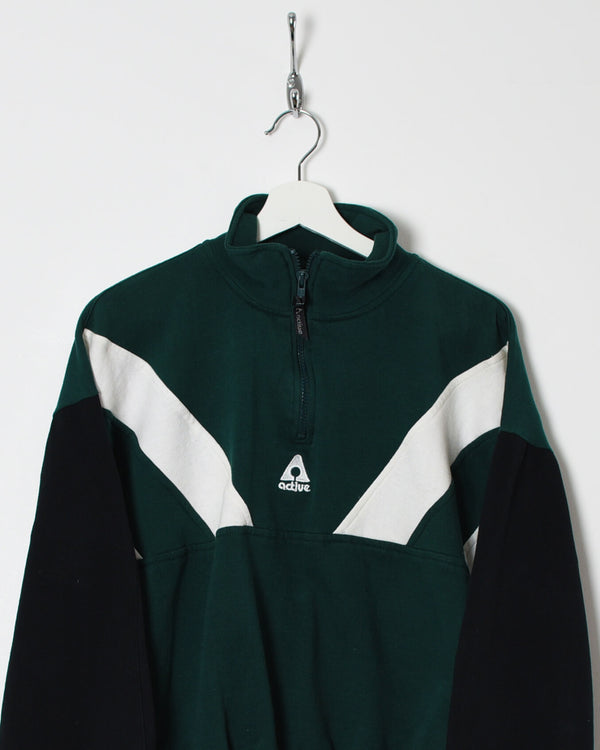 Vintage 90s 1/4 Zip Sweatshirt - X-Small