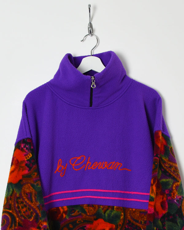 Vintage 90s 1/4 Zip Fleece - XX-Large