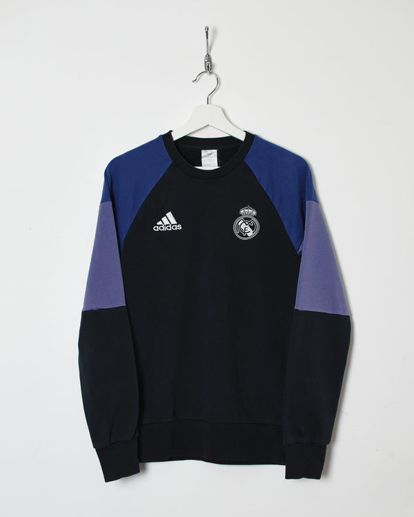 Adidas Real Madrid Sweatshirt - Small