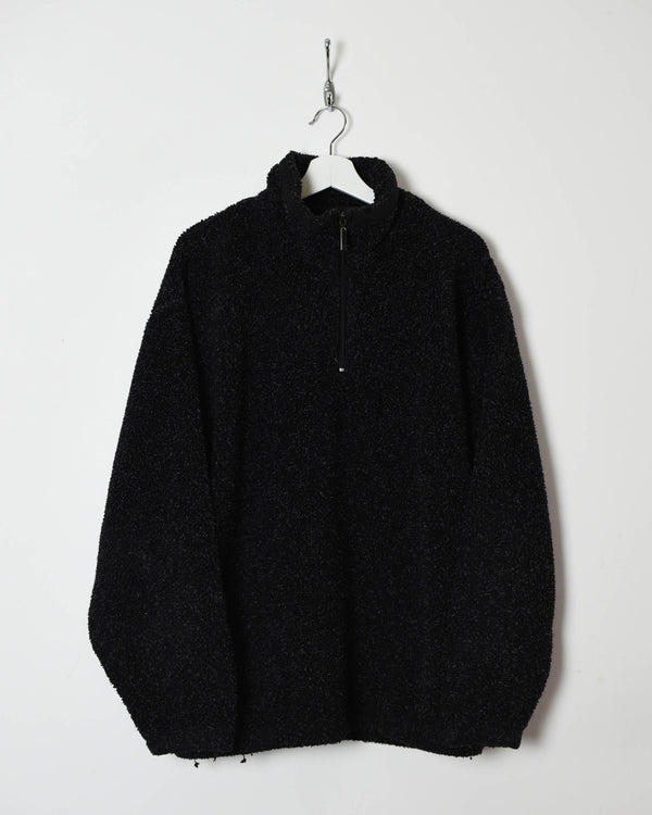 Vintage 90s 1/4 Zip Fleece - X-Large - Domno Vintage 90s, 80s, 00s Retro and Vintage Clothing