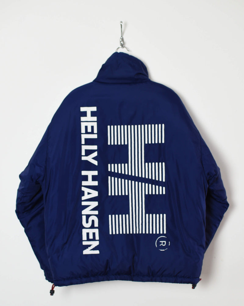 Helly Hansen Reversible Puffer Jacket - Medium - Domno Vintage 90s, 80s, 00s Retro and Vintage Clothing