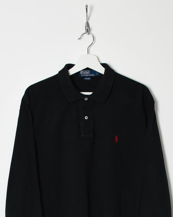 Ralph Lauren Long Sleeved Polo Shirt - Large - Domno Vintage 90s, 80s, 00s Retro and Vintage Clothing