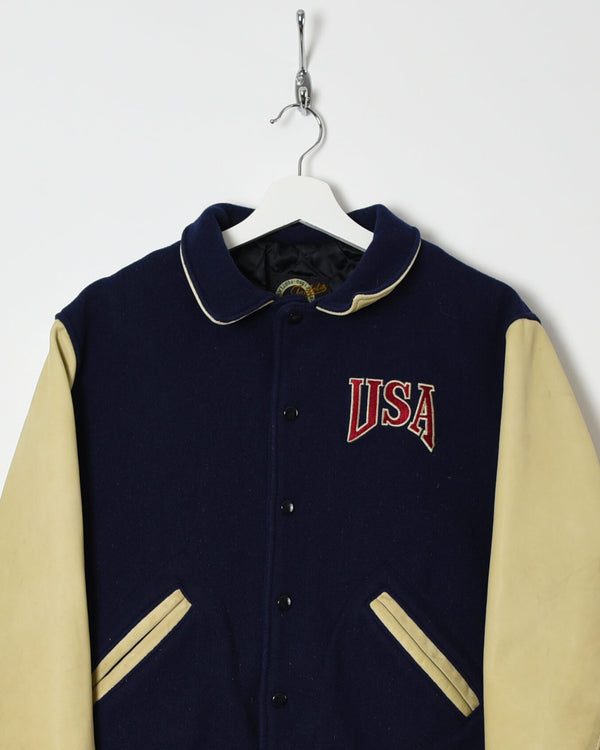 Vintage USA Varsity Jacket - Small