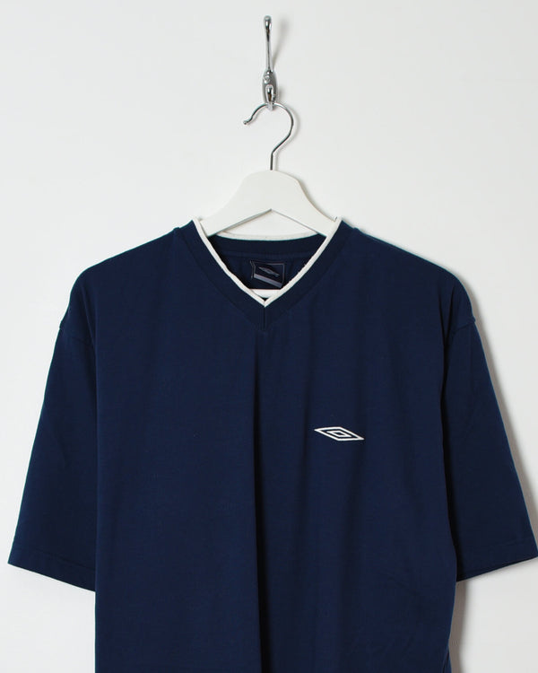 Umbro T-Shirt - X-Large - Domno Vintage 90s, 80s, 00s Retro and Vintage Clothing