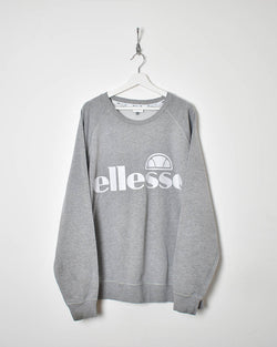 Ellesse Sweatshirt - XX-Large - Domno Vintage 90s, 80s, 00s Retro and Vintage Clothing