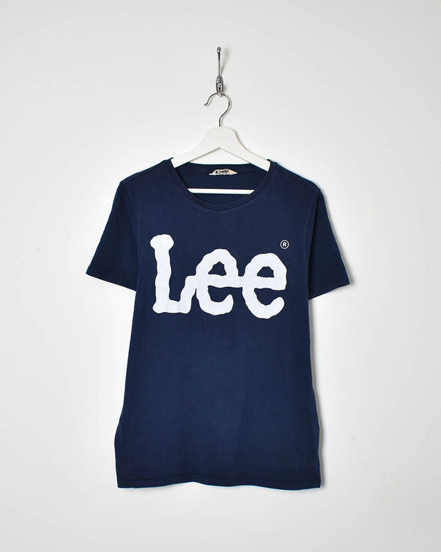 Lee T-Shirt - Small - Domno Vintage 90s, 80s, 00s Retro and Vintage Clothing