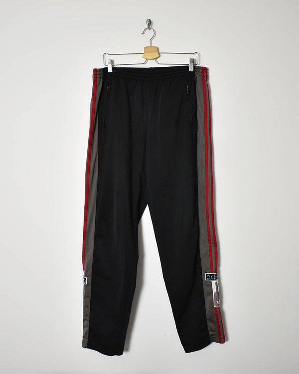 Adidas Popper Tracksuit Bottoms - X-Large