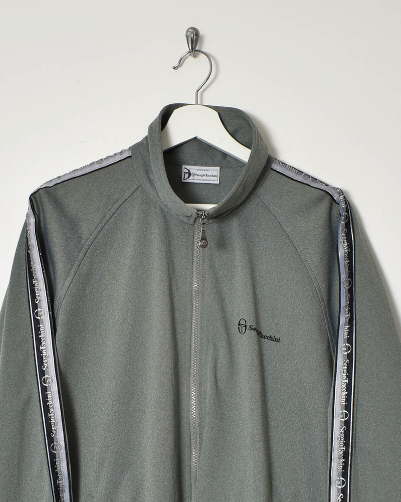 Sergio Tacchini Tracksuit Top - Large - Domno Vintage 90s, 80s, 00s Retro and Vintage Clothing