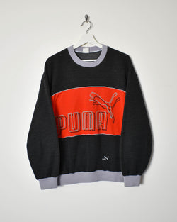 Puma Sweatshirt - Large - Domno Vintage 90s, 80s, 00s Retro and Vintage Clothing