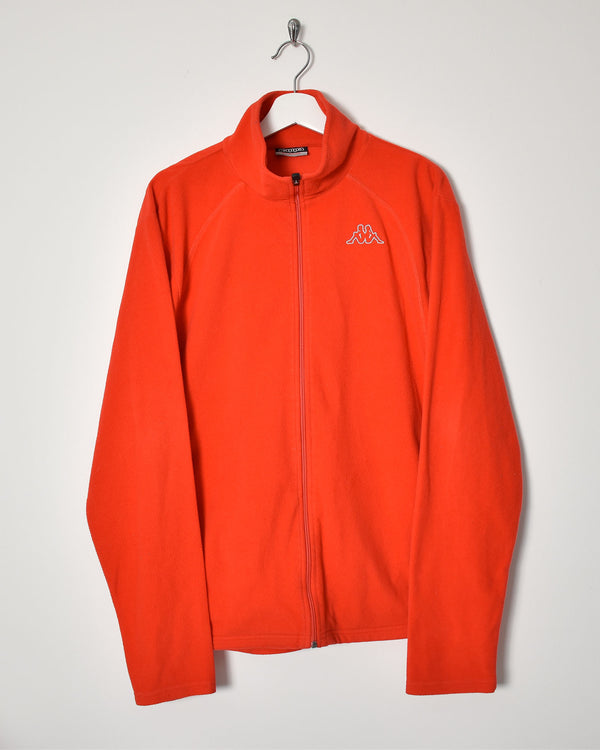 Kappa Fleece - X-Large - Domno Vintage 90s, 80s, 00s Retro and Vintage Clothing
