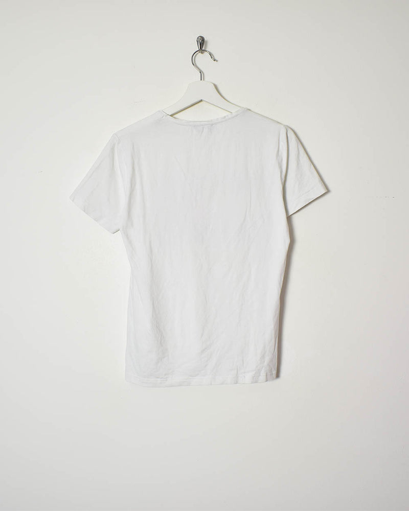 Tommy Jeans T-Shirt - Small - Domno Vintage 90s, 80s, 00s Retro and Vintage Clothing