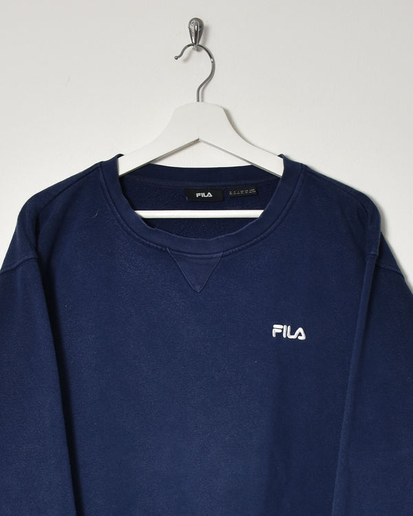 Fila Sweatshirt - X-Large - Domno Vintage 90s, 80s, 00s Retro and Vintage Clothing