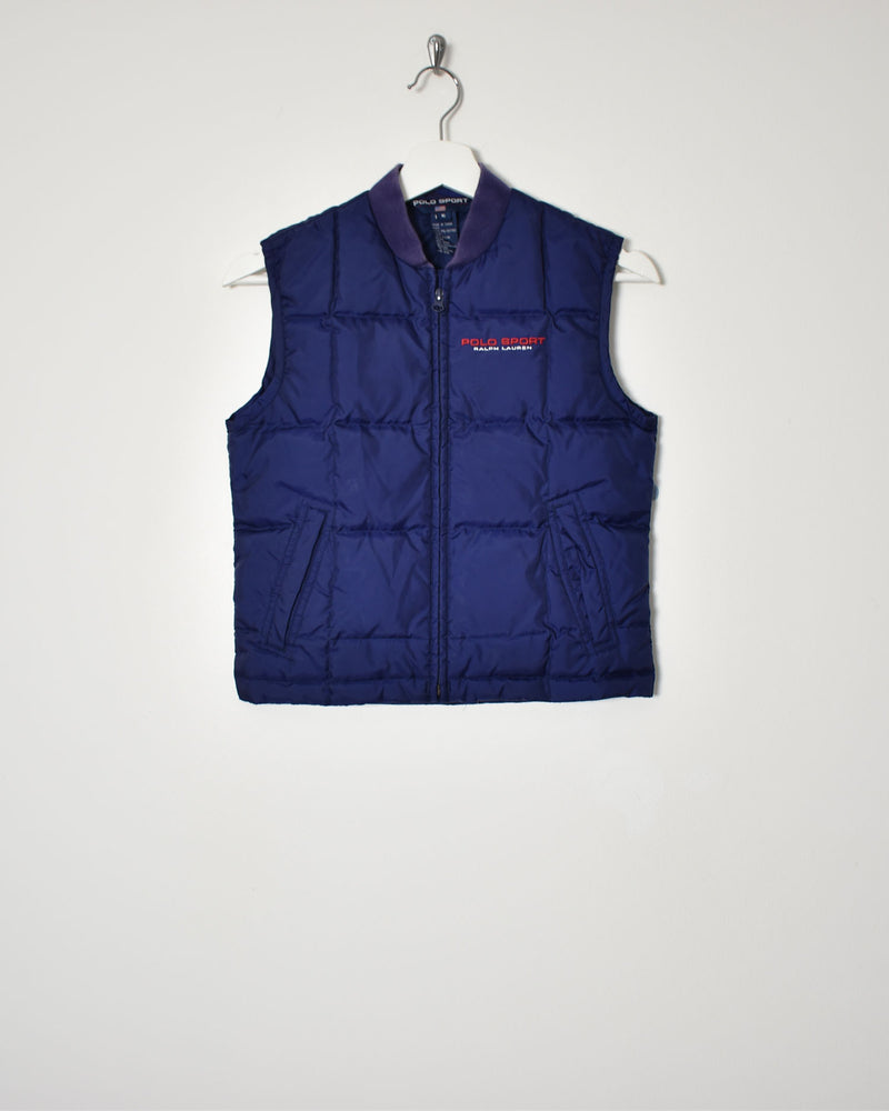 Ralph Lauren Polo Sport Women's Gilet - Small - Domno Vintage 90s, 80s, 00s Retro and Vintage Clothing