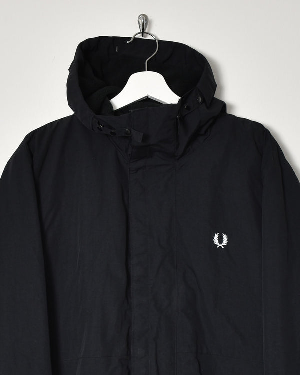 Fred Perry Fleece Lined Jacket - X-Large - Domno Vintage 90s, 80s, 00s Retro and Vintage Clothing