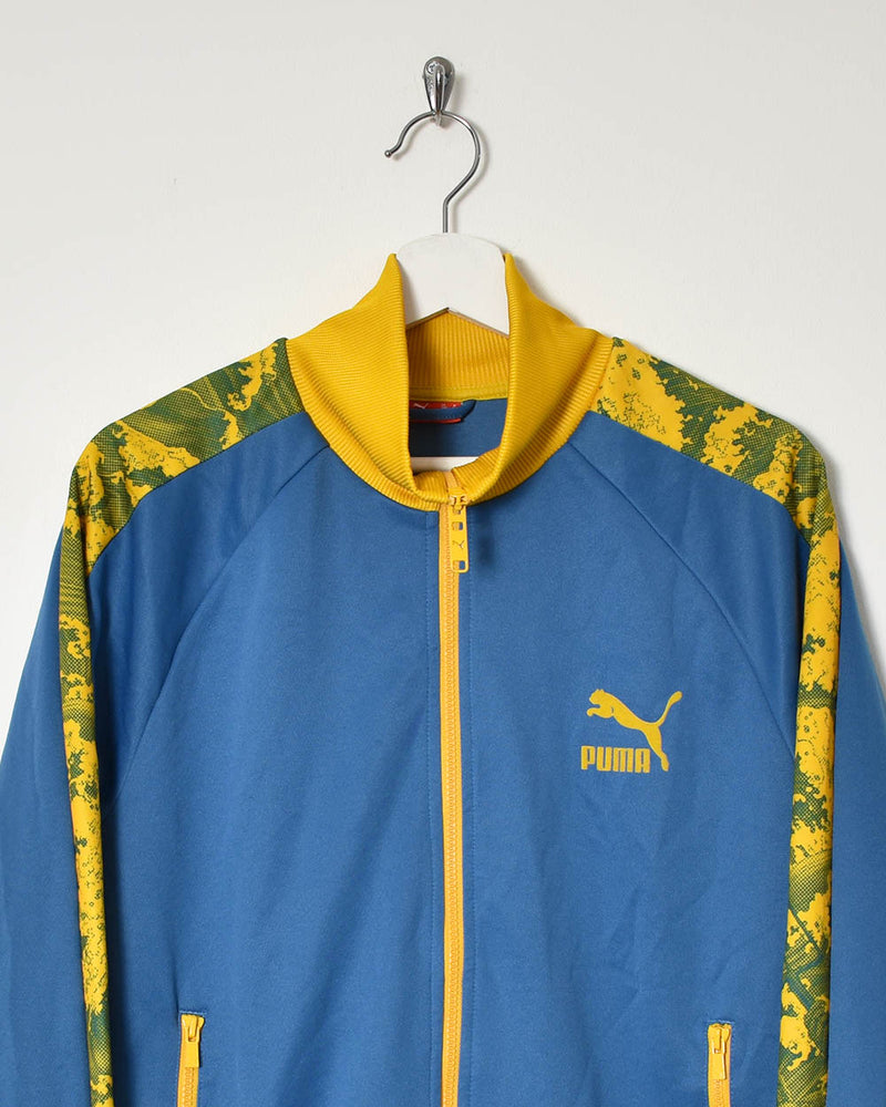 Puma Tracksuit Top - Small - Domno Vintage 90s, 80s, 00s Retro and Vintage Clothing