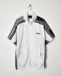 Adidas Sleeveless Tracksuit Top - Large - Domno Vintage 90s, 80s, 00s Retro and Vintage Clothing