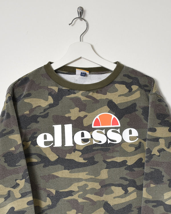 Ellesse Sweatshirt - Small - Domno Vintage 90s, 80s, 00s Retro and Vintage Clothing