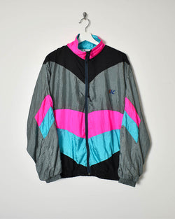 Vintage 90s Shell Jacket - Medium - Domno Vintage 90s, 80s, 00s Retro and Vintage Clothing