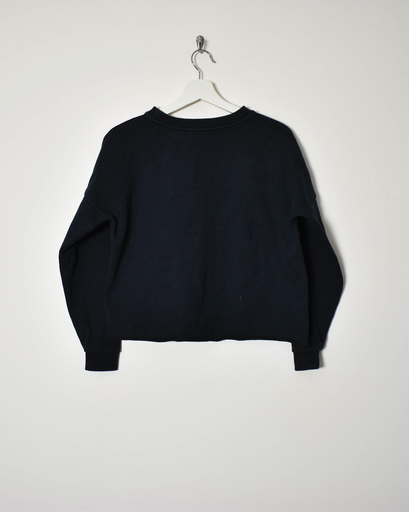 Calvin Klein Crop Top Sweatshirt - X-Small