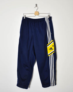 Adidas Popper Tracksuit Bottoms - Large - Domno Vintage 90s, 80s, 00s Retro and Vintage Clothing