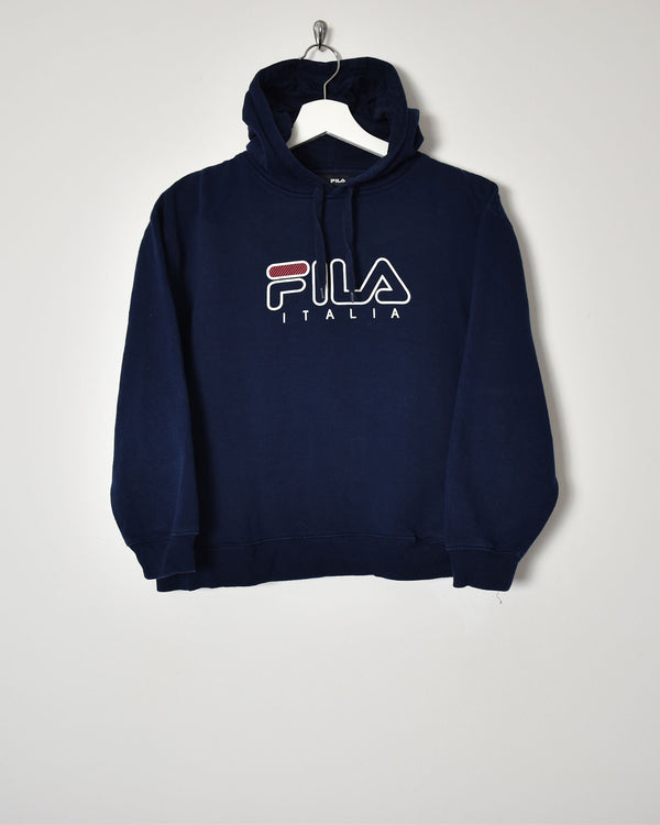 Fila Hoodie - X-Small - Domno Vintage 90s, 80s, 00s Retro and Vintage Clothing
