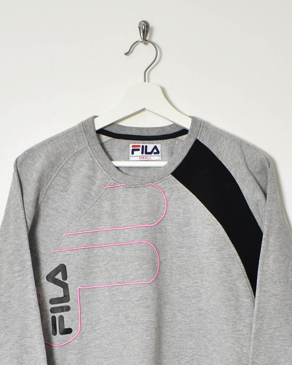 Fila Sweatshirt - X-Small - Domno Vintage 90s, 80s, 00s Retro and Vintage Clothing