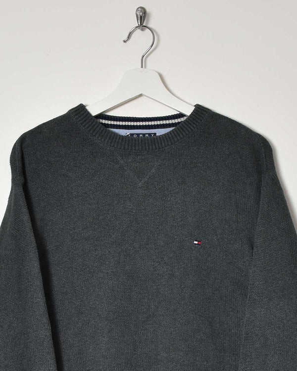 Tommy Hilfiger Sweatshirt - Large - Domno Vintage 90s, 80s, 00s Retro and Vintage Clothing