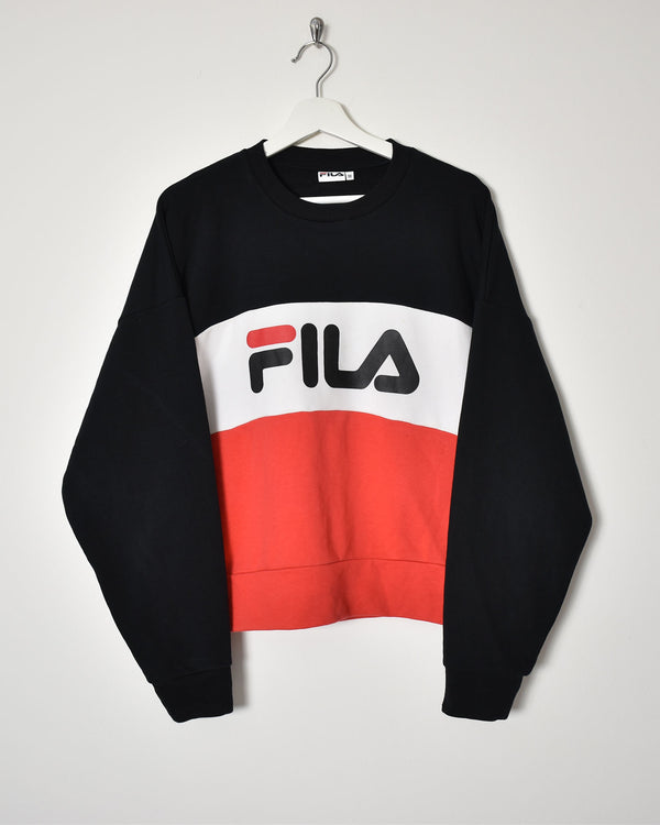 Fila Sweatshirt - Medium - Domno Vintage 90s, 80s, 00s Retro and Vintage Clothing