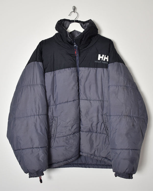 Helly Hansen Puffer Jacket - X-Large - Domno Vintage 90s, 80s, 00s Retro and Vintage Clothing