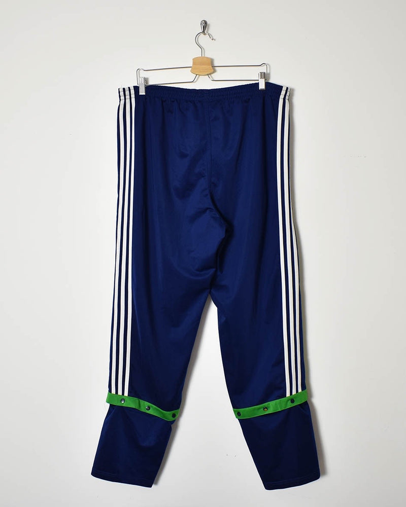 Adidas Popper Tracksuit Bottoms - X-Large - Domno Vintage 90s, 80s, 00s Retro and Vintage Clothing